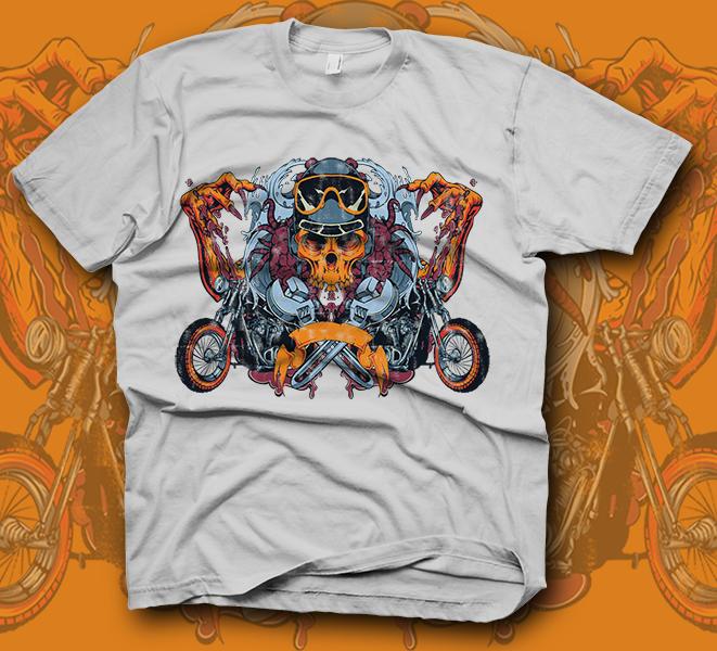 766a487da Koszulki motocyklowe na prezent. Samodzielnie zaprojektowana koszulka ...