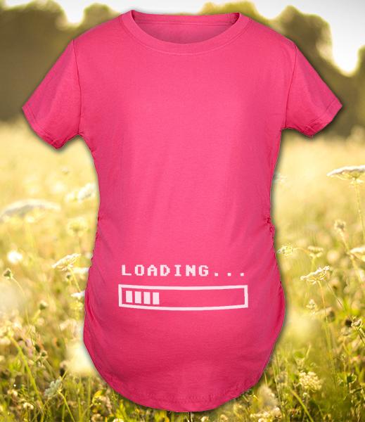 2abe3b16e8661d Baby inside! Śmieszne koszulki ciążowe dla przyszłych mam ...