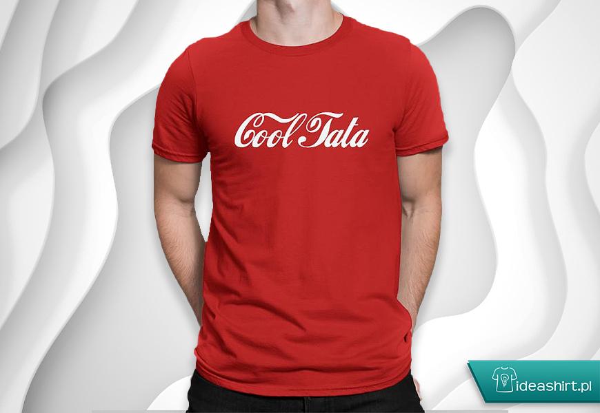 Koszulka dla taty Cool Tata