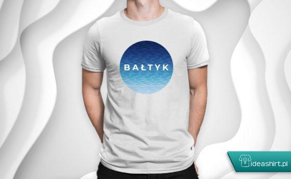 Koszulka Bałtyk - polskie morze