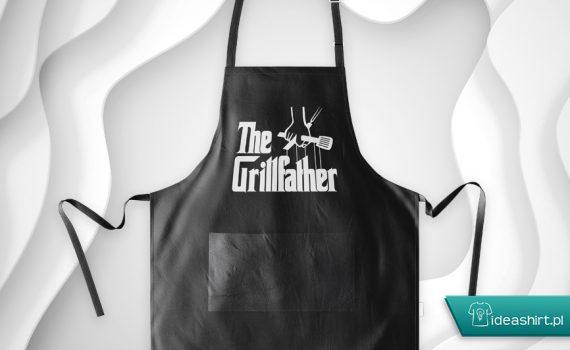 fartuch mistrza grilla - the grillfather