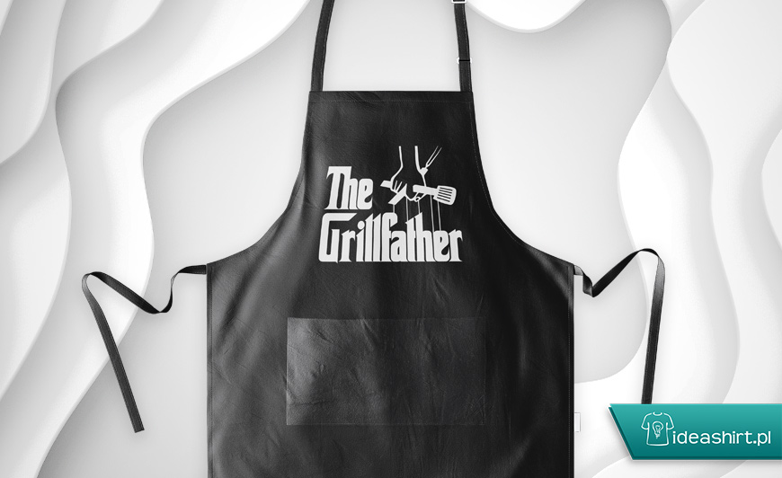 fartuch na grilla - the grillfather