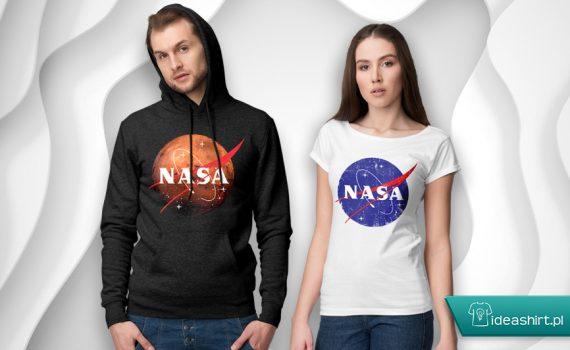 Koszulka NASA i bluza NASA w IdeaShirt