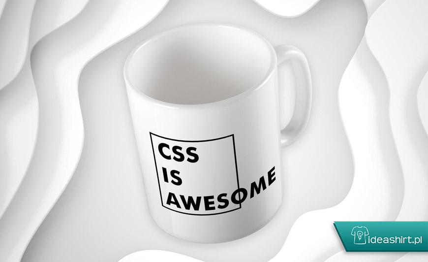 Kubek dla programisty CSS is Awesome