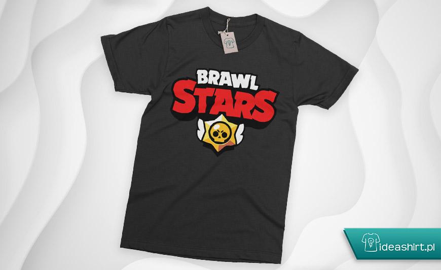 Brawl stars koszulka z logo