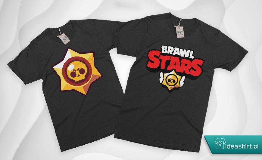 Koszulki brawl stars dla dzieci z nadrukiem DTG