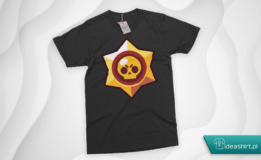 Koszulka brawl stars z logo gwiazdką
