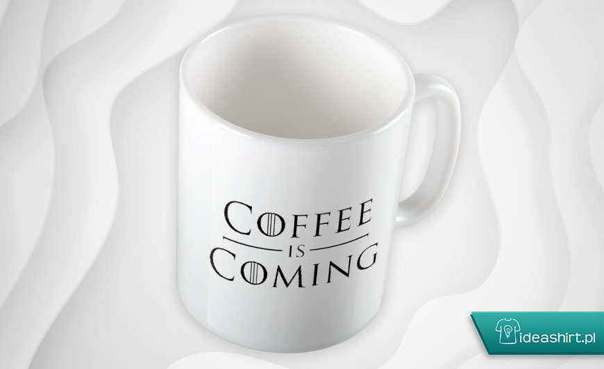Kubek na jesień Gra o Tron Coffee is coming
