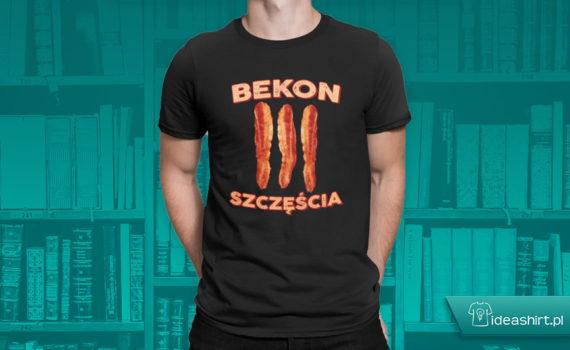 Bekon szczęścia - koszulki dla studentów