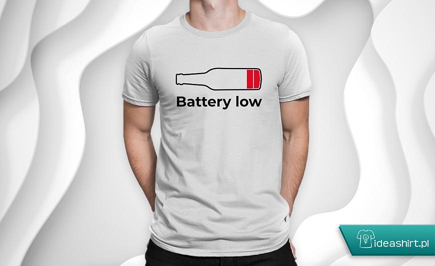 Zabawna koszulka z piwem dla studenta