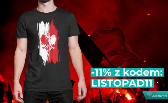 Patriotyczne koszulki na 11 listopada