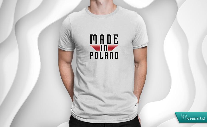 Made in Poland - odzież patriotyczna t-shirt
