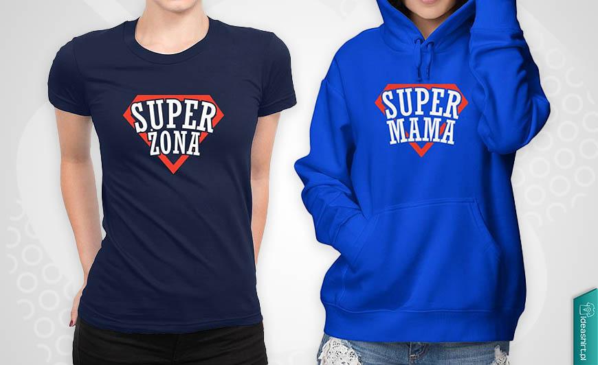Super żona Super mama prezent na dzień kobiet