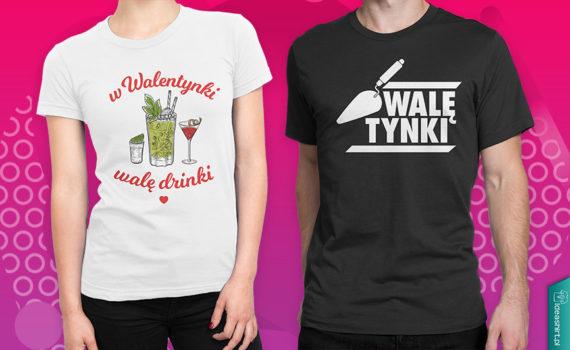 Walentynkowe koszulki dla singli
