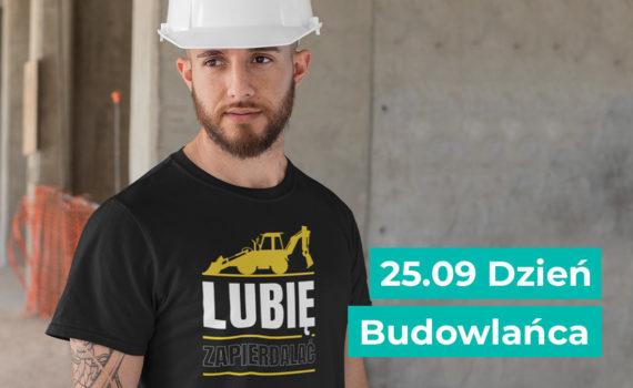 Wzór na koszulkę dla budowlańca