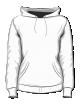 Bluza z kapturem damska premium