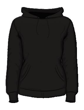 Bluza z kapturem damska sitodruk