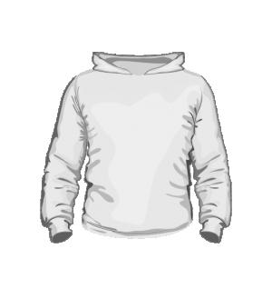 Bluza z kapturem dziecięca sitodruk