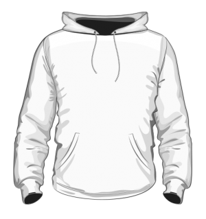 Bluza z kapturem męska sitodruk