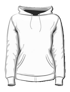 Bluza z kapturem premium damska