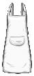 Fartuch sitodruk