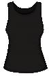 Koszulka damska bez rękawków sitodruk