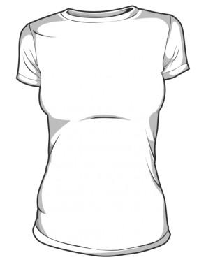 Koszulka Damska biała basic
