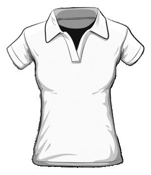Koszulka polo damska HAFT