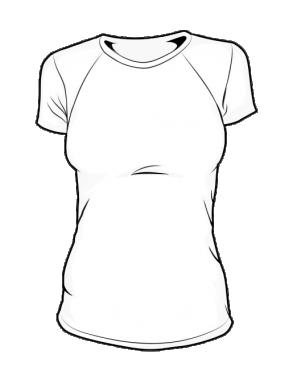 Koszulka t-shirt basic biała damska fullprint