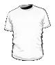 Koszulka t-shirt basic biała męska fullprint