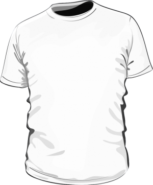 Koszulka t-shirt basic biała męska sitodruk