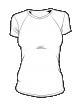 Koszulka t-shirt basic kolor damska fullprint