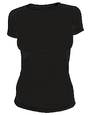 Koszulka t-shirt basic kolor damska sitodruk