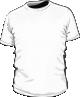 Koszulka t-shirt economy męska biała sitodruk