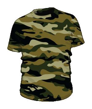 Koszulka t-shirt moro męska fullprint