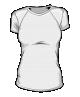 Koszulka t-shirt sportowa damska