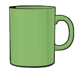 Kubek 330 ml kolor