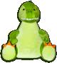 Maskotka Dinozaur