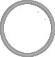 Naszywka okrągła z rzepem miękkim