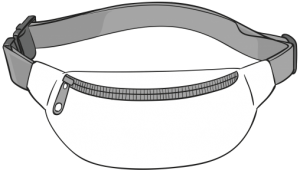 Saszetka biodrowa (nerka) HAFT