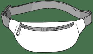 Saszetka biodrowa (nerka)