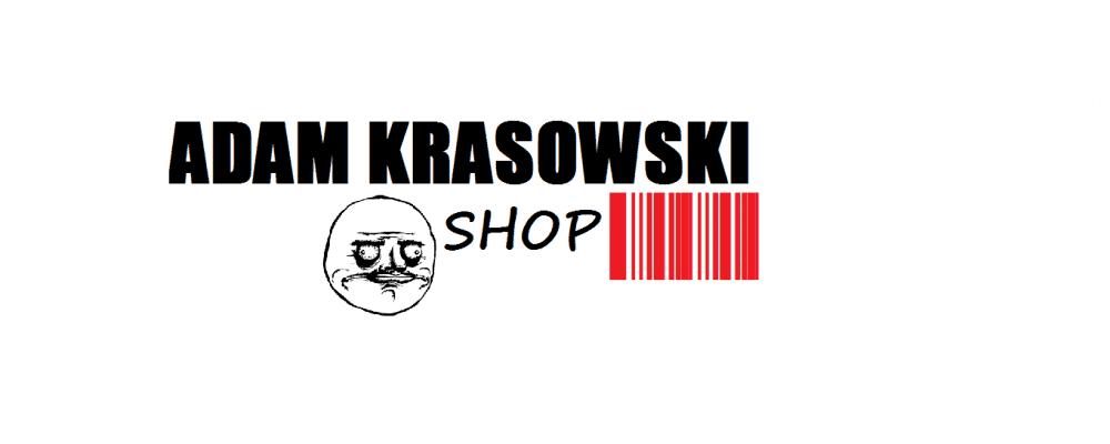 Adam Krasowski shop