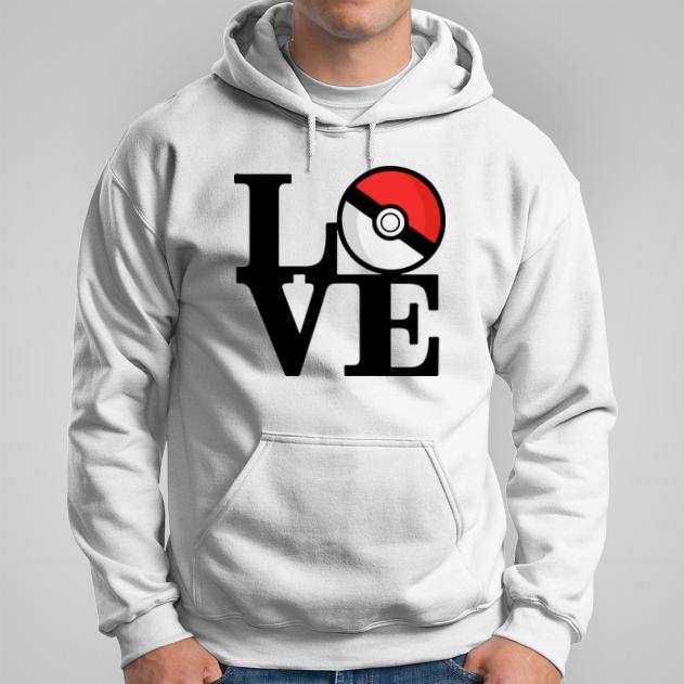 Pokemon Love bluza męska