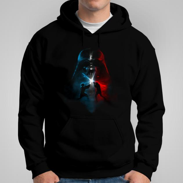 Star Wars jedi vs sith bluza męska